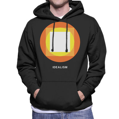 Idealism Philosophy Symbol Men's Hooded Sweatshirt - coto7
