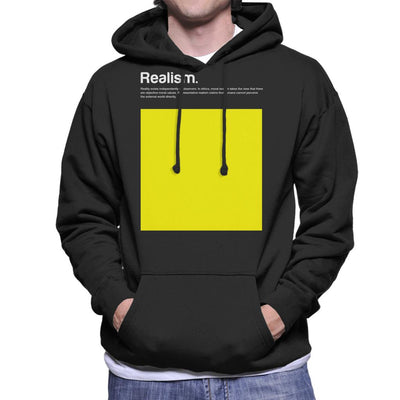 Realism Philosophy Symbol Men's Hooded Sweatshirt - coto7