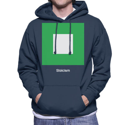 Stoicism Philosophy Symbol Men's Hooded Sweatshirt - coto7