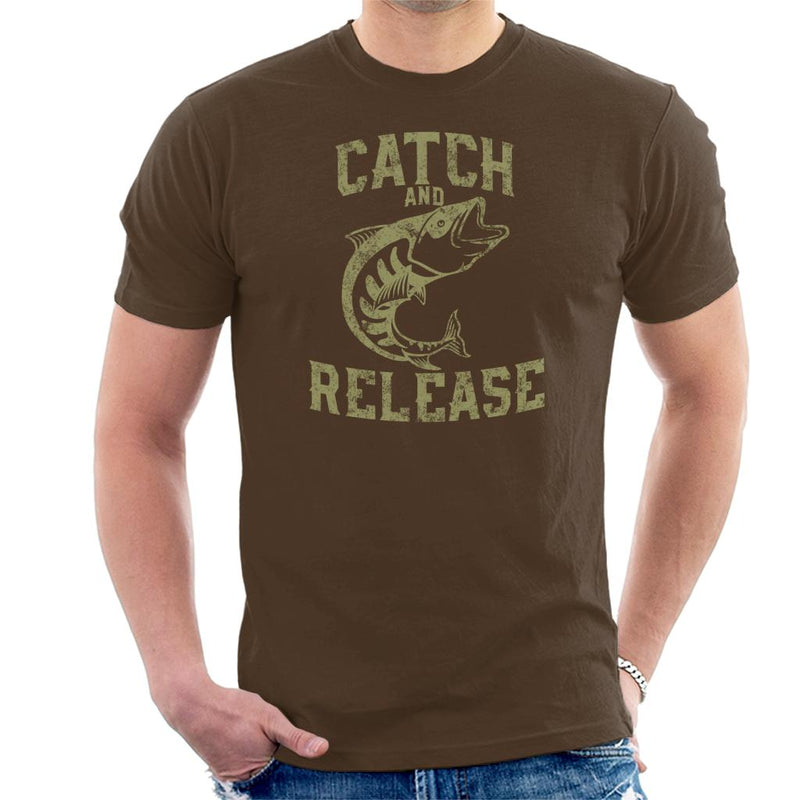 Catch And Release Fishing Men's T-Shirt - coto7