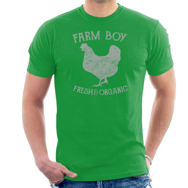 Farm Boy Fresh And Organic Men's T-Shirt - coto7