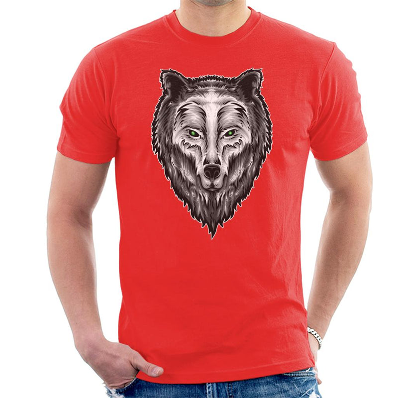 The Guardian Spirit Wolf Men's T-Shirt - coto7