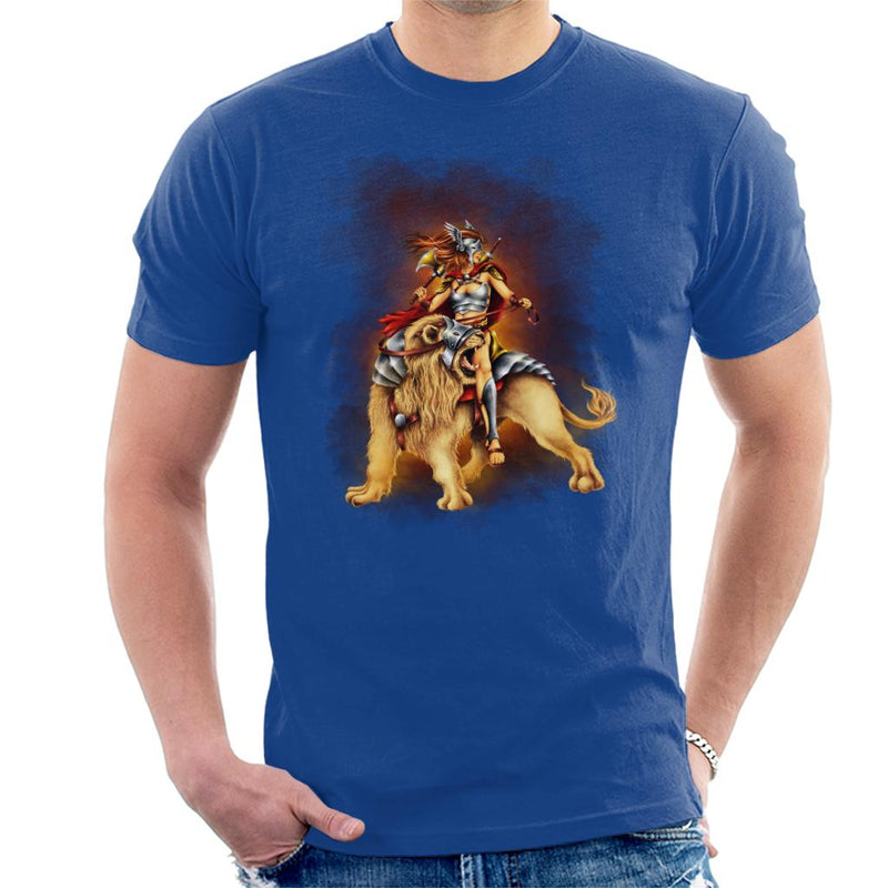 The Lion Rider Men's T-Shirt - coto7