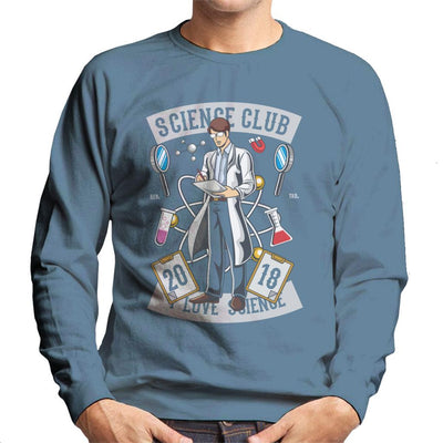 I Love Science Club Men's Sweatshirt - coto7