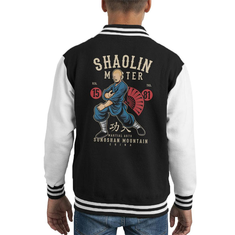 Shaolin Master China Kid's Varsity Jacket - coto7