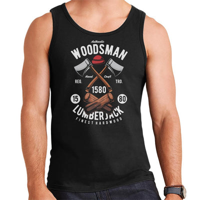 Authentic Woodsman Lumberjack Men's Vest - coto7