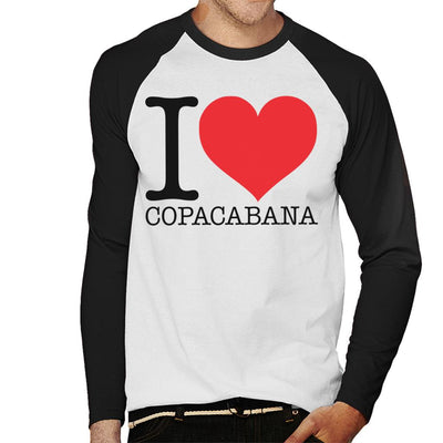 Beach Destinations I Love Copacabana Men's Baseball Long Sleeved T-Shirt - coto7
