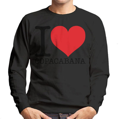 Beach Destinations I Love Copacabana Men's Sweatshirt - coto7