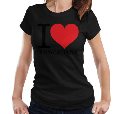 Beach Destinations I Love Copacabana Women's T-Shirt - coto7