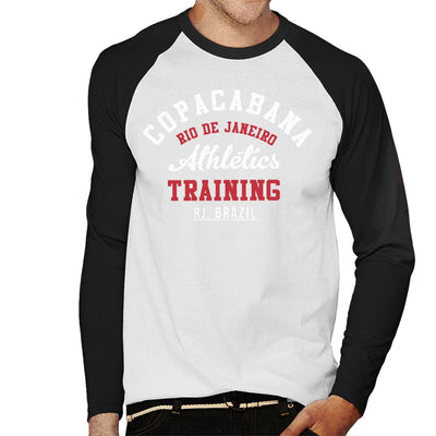 Copacabana Athletic Training Men's Baseball Long Sleeved T-Shirt - coto7