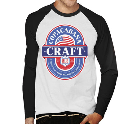 Copacabana Craft Ale Men's Baseball Long Sleeved T-Shirt - coto7