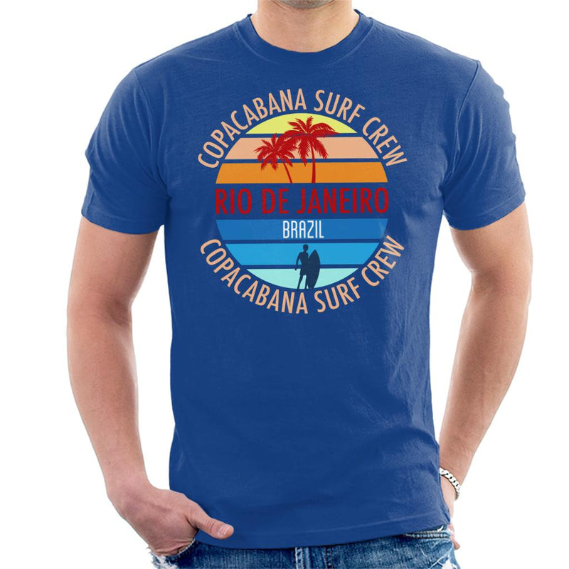 Copacabana Surf Crew Men's T-Shirt - coto7