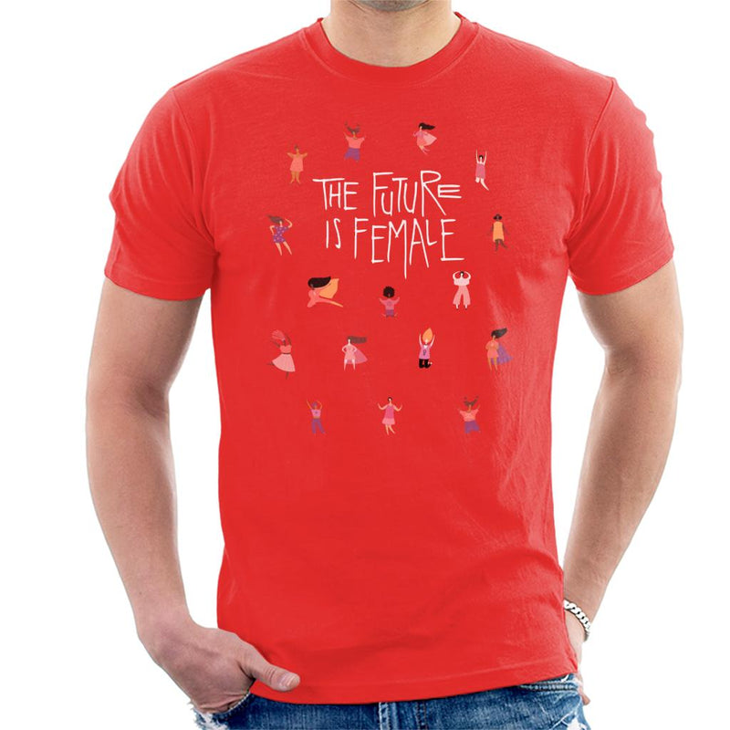 Girl Power The Future Is Female Men's T-Shirt - coto7