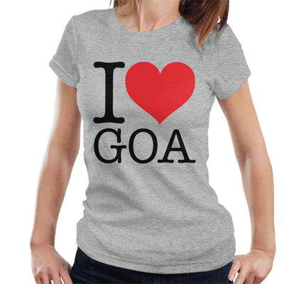 Beach Destinations I Love Goa Women's T-Shirt - coto7