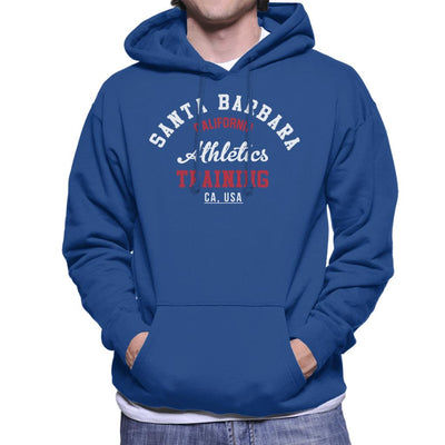 Santa Barbara Athletics Training Men's Hooded Sweatshirt - coto7