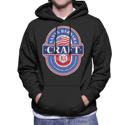 Santa Barbara Craft Ale Men's Hooded Sweatshirt - coto7