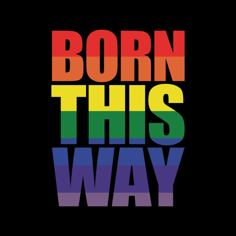 Pride Born This Way Men's T-Shirt - coto7