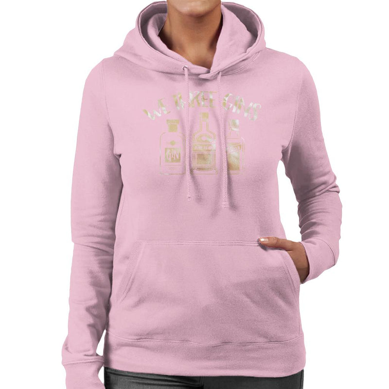 We Three Gins Christmas Women's Hooded Sweatshirt - coto7
