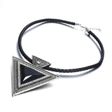 Women's Fashion Triangle  Necklace