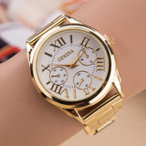 Ladies 3 Eyes Ladies Casual Quartz Watches