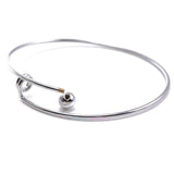 10pcs Fashion Expandable  DIY Blank Bangles Bracelet