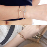 Fashion Simple Wire Knot Bracelet