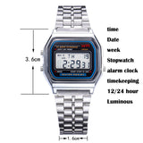 Men's Multifunctional  Digital  Led Wristwatches
