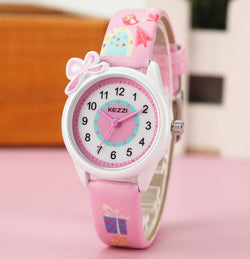 Girl's Quartz Analog Cartoon  Watches