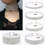 Imitation Diamond Rhinestone Choker