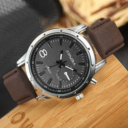 Military Pilot Aviator Style Dial Watches