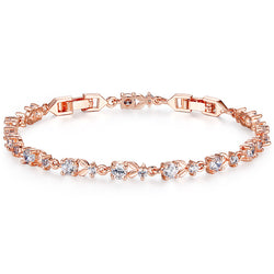 Luxury Rose Chain Bracelets