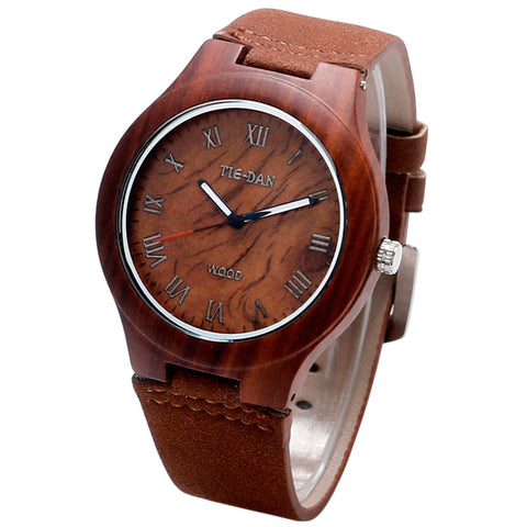 Men's Classical Bamboo Wooden Watches
