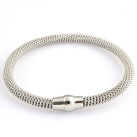 Women's Magnetic Twisted Cable Bracelet
