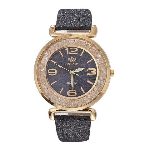 Fashion Women Crystal Quartz Watches