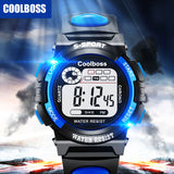 Boy's Student LED Digital Wristwatches