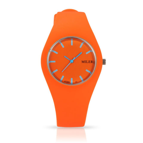 Women's  Fashion Silicone Band Sport Watches
