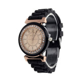Hot Sale Ladies Rubber Band Watches