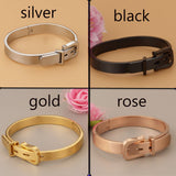 Punk fashion belt love bracelet
