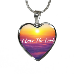I Love The Lord Necklace