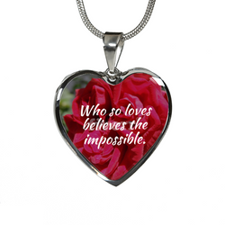 Love Believe The Impossible Necklace