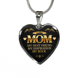 Mom My Best Friend Necklace