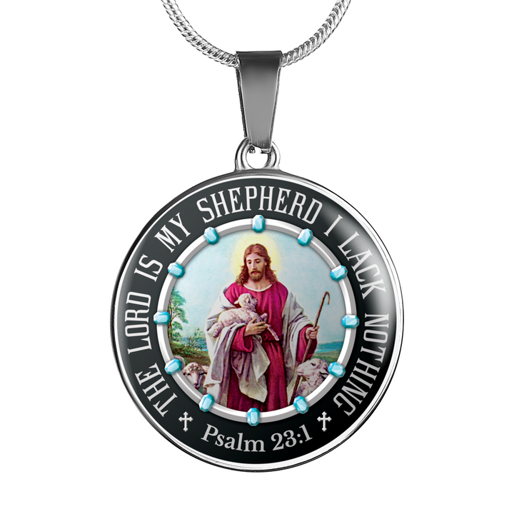 The Lord Is My Shepherd Gold Necklaces – Truly Watches