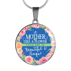 Mother Flower Necklace