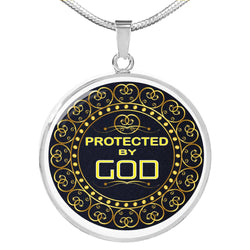 Protected By God Necklace