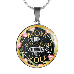 Mom Flowers Necklace