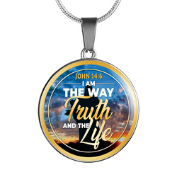 I Am The Way Truth and Life Necklace