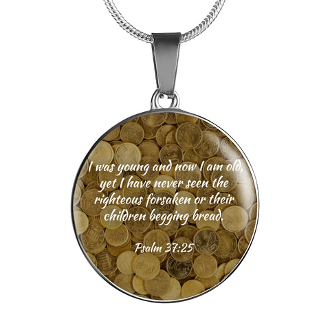 I was Young And Now Old Righteous Necklace – Truly Watches