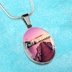 Faith In Action Necklace