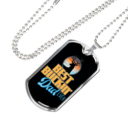 Bucking Dad Necklace