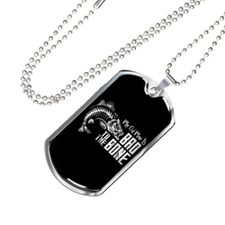 Bad To The Bone Necklace